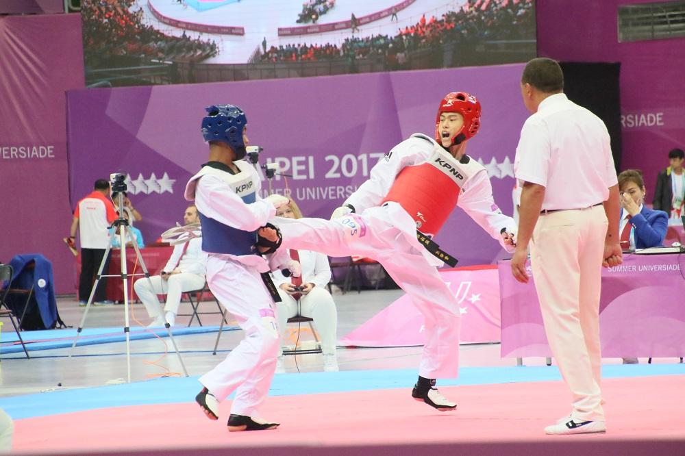 第廿九屆世界大學生夏季運動會跆拳道賽