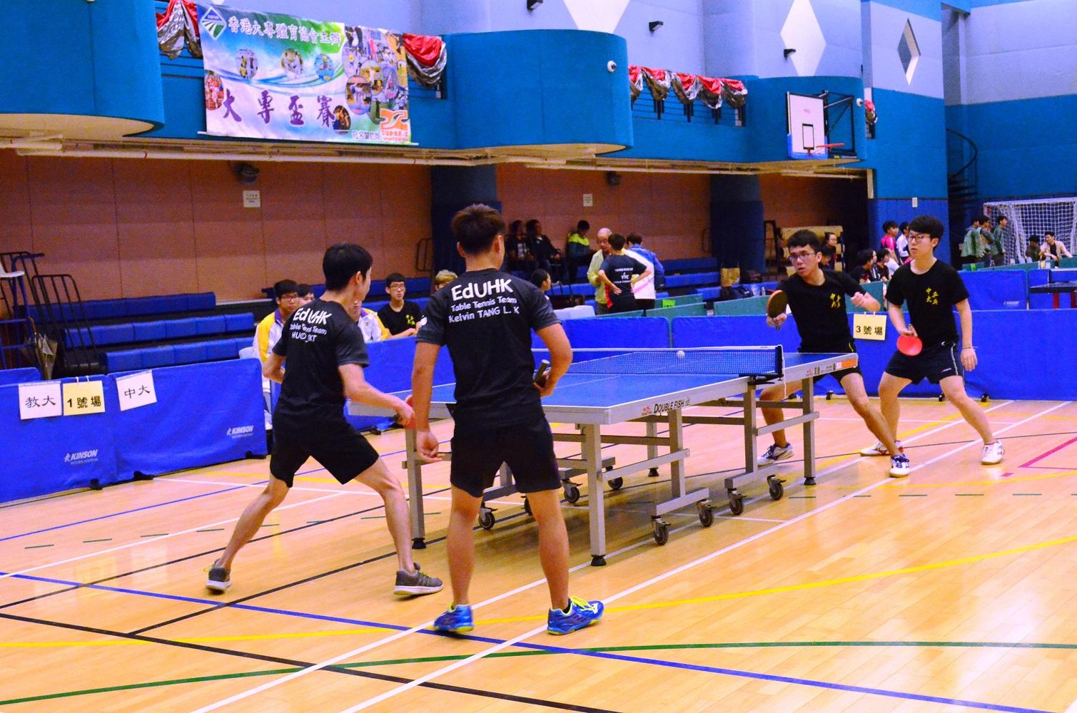 2017-18 乒乓球比賽
